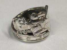 Silverware Ring Handmade Betty Lou Vintage by JustReminiscing, $42.00