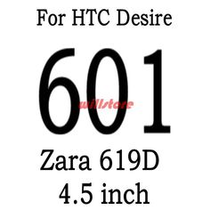 Tempered Glass Screen Protector Guard Film BAG For HTC Desire 320 326g 516 520 526 620 620g 820mini 626g/728/728g/816/826/828