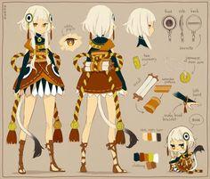 Tanaka. Lion faery that follows serah.