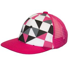 Calikids Ball Cap - Pink Geo Geo, Girl Outfits, Hats, Girls, Clothing, Pink, Baby Clothes Girl, Outfits, Clothes