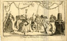A Peep at the Masquerade, c. 1778