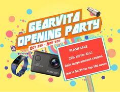 GearVita.com Store Opens Now – Amazing Super Deal