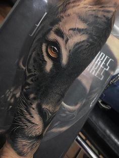Jumilla Olivares- Tiger Tattoo