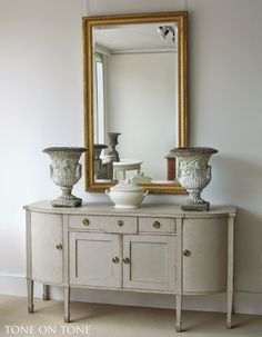 beautiful painted antiques at toneontoneantiques.blogspot.com