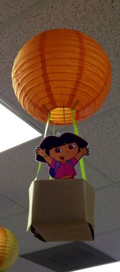 Dora hot air balloon- Aviation Day, August 19th