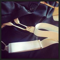 Verstelwerk: bretels korter maken... na verloop van tijd gaat de rek het elastiek... tja. #myview #mystyle #svvk