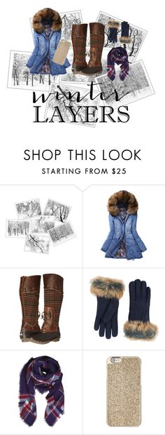 """""""Contest-Sundance Film festival"""" by kjeirstinc ❤ liked on Polyvore featuring WithChic, Sperry, UGG, Humble Chic and Michael Kors"""