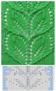 Knitting Patterns Techniques Yarn from the Baltics, Italian stockKnitting Patterns Stitches pattern knitting a branch with leaves without holes with patterns …Save those thumbsFind and save knitting and crochet schemas, simple recipes, and other ideas c Lace Knitting Stitches, Lace Knitting Patterns, Knitting Charts, Lace Patterns, Loom Knitting, Knitting Designs, Knitting Projects, Stitch Patterns, Tear