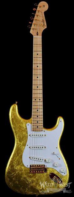 Fender Masterbuilt NOS Clapton Gold Leaf Stratocaster by Todd Krause