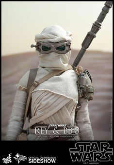 Rey And BB-8 STAR WARS Sixth-Scale Figures Arrive From Jakku -  #BB8 #hottoys #starwars #SWTFA