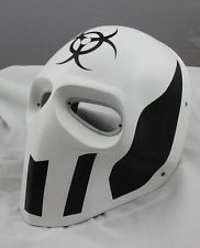 COOL White PROP Paintball Airsoft Full Face PC Lens Eye Protection Skull Mask