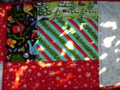 Winter fun placemats by NannyGrans on Etsy, $50.00