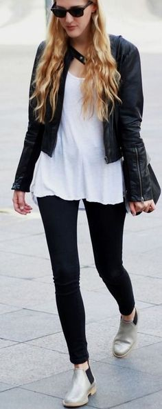 Silver boots | DearDiary-fashion #silver