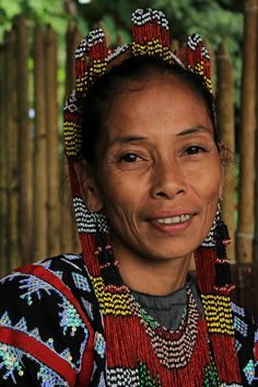 T'boli Woman, Philippines by eazy traveler, via Flickr
