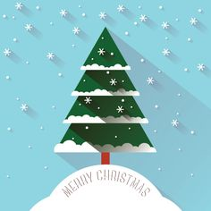 Christmas Snow - Vector Graphic by DryIcons