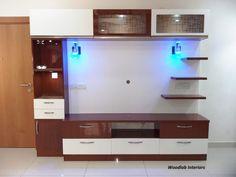 Modern Tv Unit Designs, Modern Tv Wall Units, Living Room Tv Unit Designs, Tv Unit Furniture Design, Tv Unit Interior Design, House Ceiling Design, Tv Wall Design, Pop Design For Hall, Bedroom Door Design