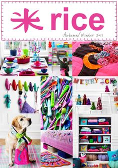 RICE Autumn/Winter Collection 2011  Collection Catalogue
