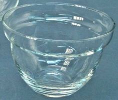 CLEAR GLASS SEAFOOD SHRIMP COCKTAIL / ICE LINER – MORE AVAILABLE EXCELLENT CONDITION by Melsmemories