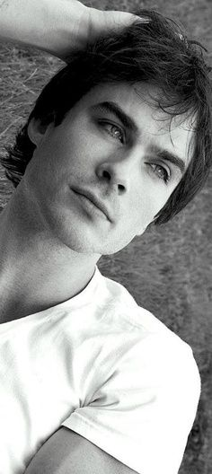 Ian Somerhalder. ( the one guy that I'm madly in love with at the moment.! )