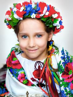 Child from Ukraine... which is located on the continent of Europe. Neighboring countries are: Belarus, Hungary, Moldova, Poland, Romania, Russia & Slovakia.