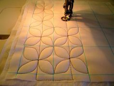"Dogwood Quilting Pattern Tutorial. This might be the tutorial that gives me that final push to make a quilt. The quilting part has always frightened me but this tutorial makes me feel that, ""I can do this!"""