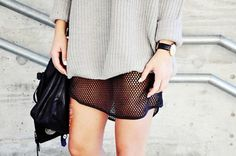 Knit & Mesh //