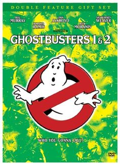 Ghostbusters Double Feature Gift Set (Ghostbusters / Ghostbusters 2 + Commemorative Book) $12.53