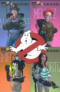 New 'Ghostbusters.' IDW