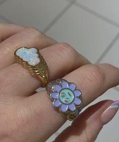 Cute Jewelry, Jewelry Rings, Jewelry Accessories, Jewlery, Funky Jewelry, Trendy Jewelry, Fashion Jewelry, Pulseras Kandi, Nail Ring