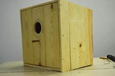 This Bird House is made for helping the birds to nest in it and hatch their eggs in a safe place.