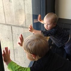 Checking out the view from the top at #fermilab #cousins