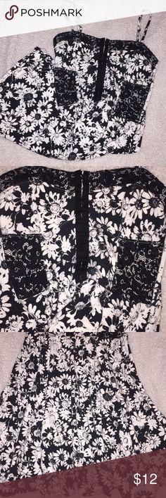 🌹Brand New Bethany Mota Floral Dress! Floral Bethany Mota 95%cotton 5% spandex  Brand New Aeropostale Dresses Midi
