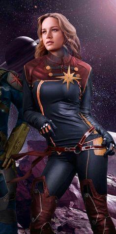 Brie Larson, Actress. Carol Danvers. Captain Marvel. Avengers ❤