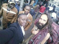 Christmas Comes Early In Kenya As 'Jesus' Is Spotted Walking Barefoot In Nairobi (Photos)