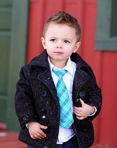 I cant wait until Max grows hair so I can give him these adorable faux hawks! So cute!