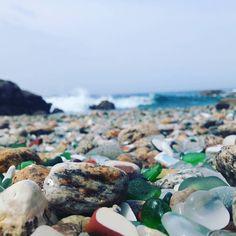Playa de los Cristales, en Laxe #CostaDaMorte vía @carolina.m.garces.3 #Galicia #SienteGalicia