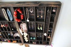 Industrial Chic Jewelry Display - bluebirdheaven, Etsy
