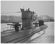 """Kriegsmarine - """"U-32"""" - Was a (211.8') Type VIIA U-boat – Commissioned: 15 April 1937 – Compliment: 4 Officers and 40–56 enlisted – Armament: 5 x 21 Inch (533mm) Torpedo Tubes (4 Bow, 1 Stern) (11 × Torpedoes or 22 TMA Mines) 1 x 88mm Deck Gun (220 Rounds) and 1 x 0.79 Inch (2cm) AA Gun – Sunk, 30 October 1940, Northwest of Ireland, in position 55°37′N 12°19′W by Depth Charges from the British Destroyers """"HMS HARVESTER"""" and """"HMS HILANDER"""" - Nine Crewmen Killed; 33 Became Prisoners of War."""