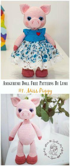 4033 besten Häkeln Bilder auf Pinterest in 2018   Crochet dolls ...