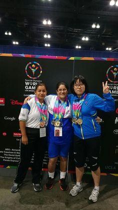 Metals for EL Salvador Special Olympics world games 2015