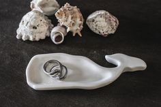 Whale Shaped Ceramic Dish | Coastal Style Gifts