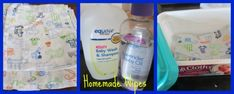 How to Make Homemade Reusable Baby Wipes