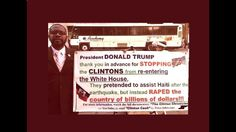 Stealth Racist Clintons Steal Haiti's Earth Quake Relief Donations & Gold