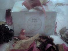 caja de sales rosas
