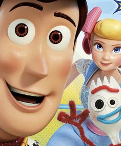 Woody, betty y forky