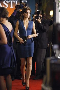 Stana Katic of Castle in the episode 'When the Bough Breaks'.