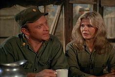 M*A*S*H: Season 5, Episode 2 Margaret's Engagement (28 Sep. 1976) mash, 4077, Major Frank Burns, Larry Linville, Loretta Swit , Major Margaret Houlihan, hotlips,