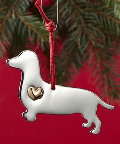 Another great find on #zulily! Dachshund For the Love of Dogs Ornament & Charm Set by Enesco #zulilyfinds