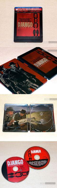 Django Desencadenado Blu-ray Steelbook. #peliculas #steelbook #django