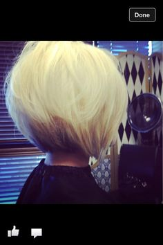 Blonde bob! My next look!